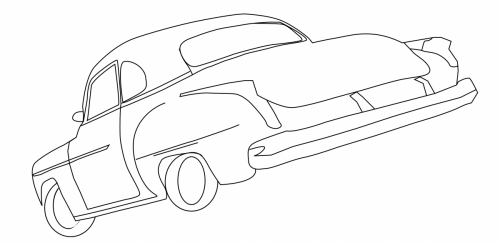 buick sketch