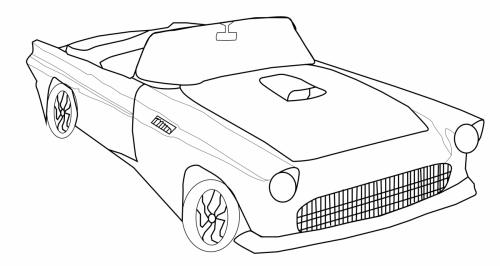 tbird sketch